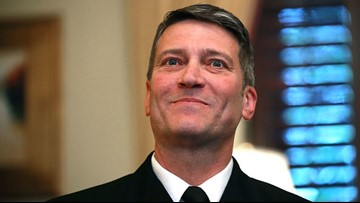Former White House physician Ronny Jackson running for Texas congressional seat
