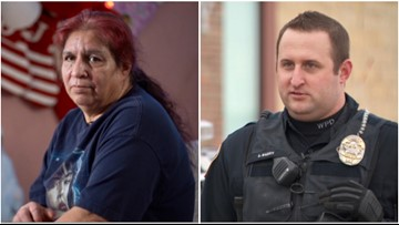Officer cites widow for shoplifting, then delivers food to her home