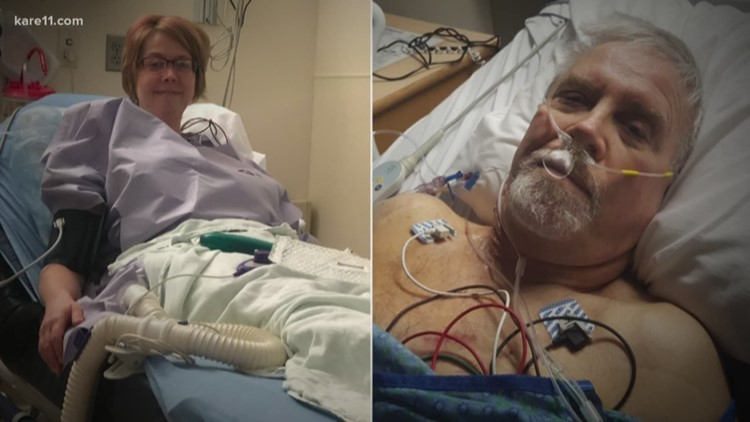 Woman gives kidney to firefighter who came to her rescue