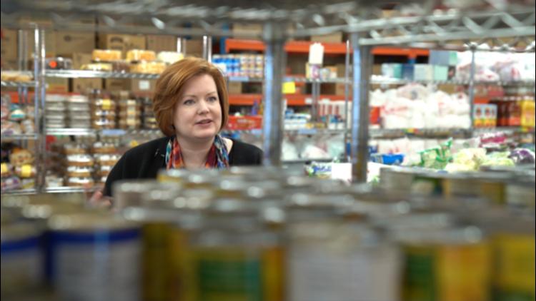 Jessica Francis is executive director of Christian Cupboard Emergency Food Shelf