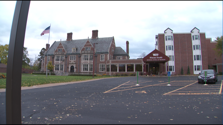 Senior Living at Watkins, the assisted living home in Winona, Minnesota that is home to both seniors and college students.