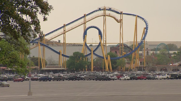 Six Flags will require guests, employees to wear masks when it reopens