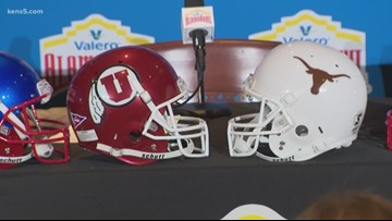 Texas to play Utah in 27th Alamo Bowl on New Year's Eve