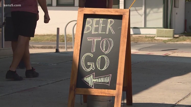 Alcohol to-go from restaurants is now one step closer to becoming permanent in Texas