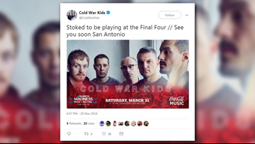 Cold War Kids added to March Madness Music Festival