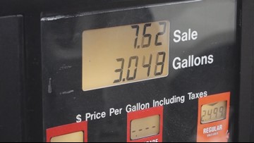 Gas prices expected to keep rising through Memorial Day