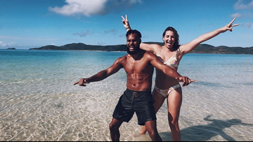 Spurs' Patty Mills proposes to longtime girlfriend