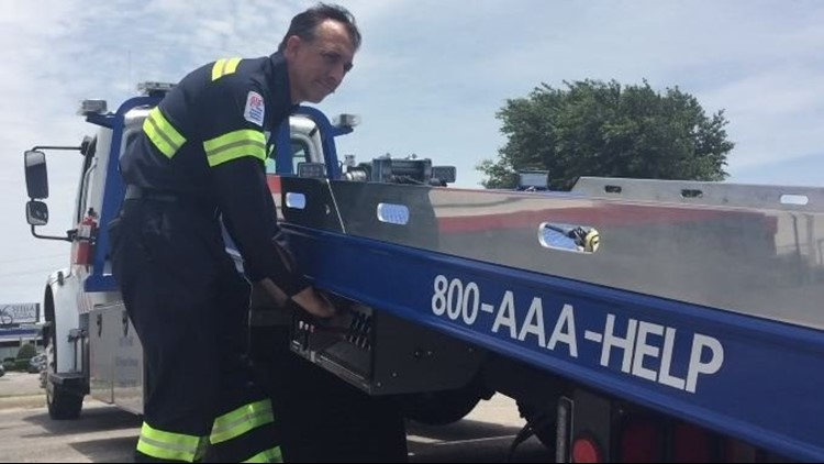 If you have been drinking, a tow service from AAA Texas will transport you and your car to your home or a hotel over July 4.