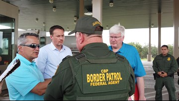 Border Patrol agents in South Texas hope visiting lawmakers will help bring more resources