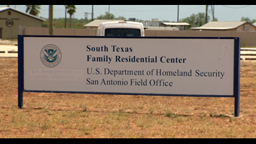 Inside the center where migrant families await hearings