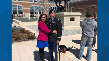 U.S. Army Lieutenant fighting his mother's deportation