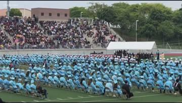 Valedictorian calls out teacher, counselor in her graduation speech