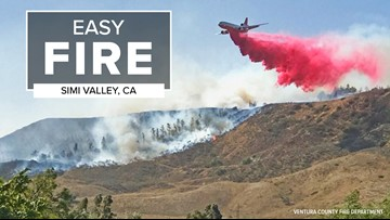 30,000 residents under mandatory evacuation due to Easy Fire in Simi Valley, Calif.