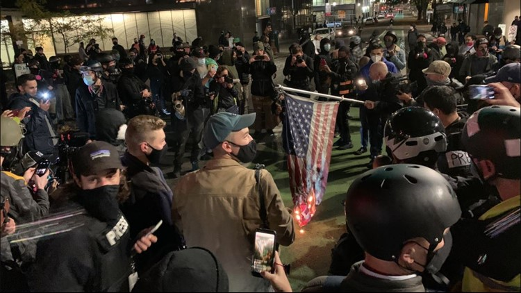 Riot declared in downtown Portland; Oregon National Guard activated