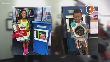Barbershops offer free library to promote literacy