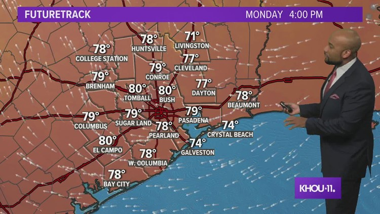 Houston forecast: Nice weather continues through mid-week