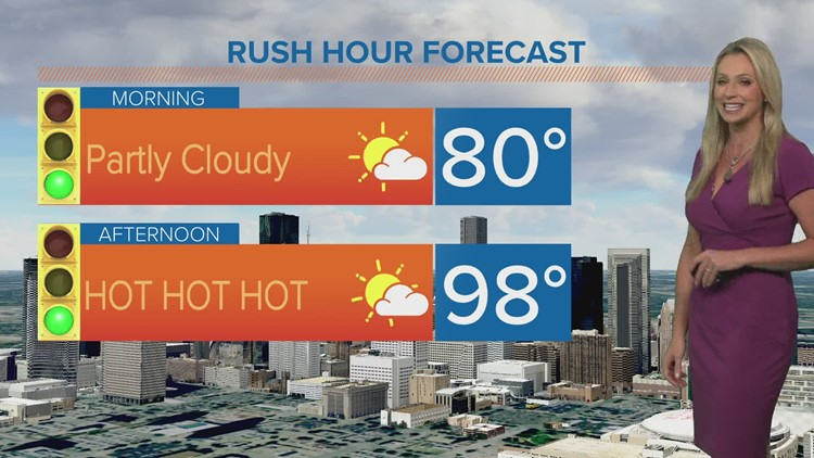 Another hot day ahead