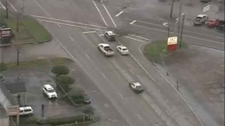 WATCH LIVE: Police chase in southeast Houston