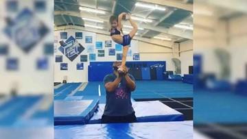 4-year-old Cypress cheerleader's amazing talent goes viral