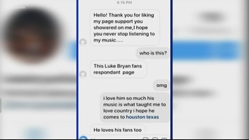 Fort Bend teen lured by scammer on Instagram offering free tickets to Luke Bryan concert