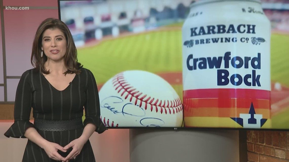 Karbach S Astros Themed Crawford Bock Now Available In