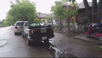 Neighbors frustrated with City of Houston for sidewalk removed years ago