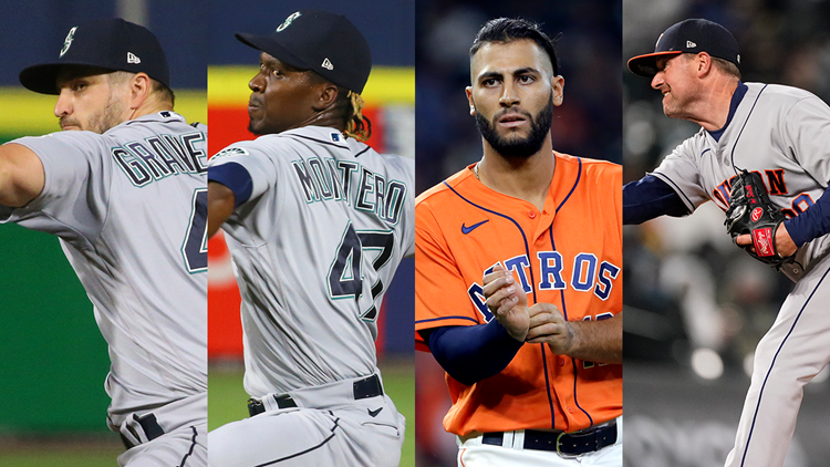 Astros make mid-series trade with Mariners