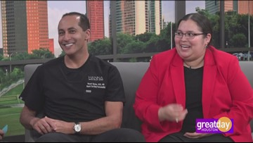 Periodontist Dr. Raouf Hanna changed Deanna Lopez's life at The Comprehensive Dental Group