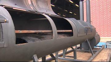 Angleton High School seniors create new kind of BBQ pit