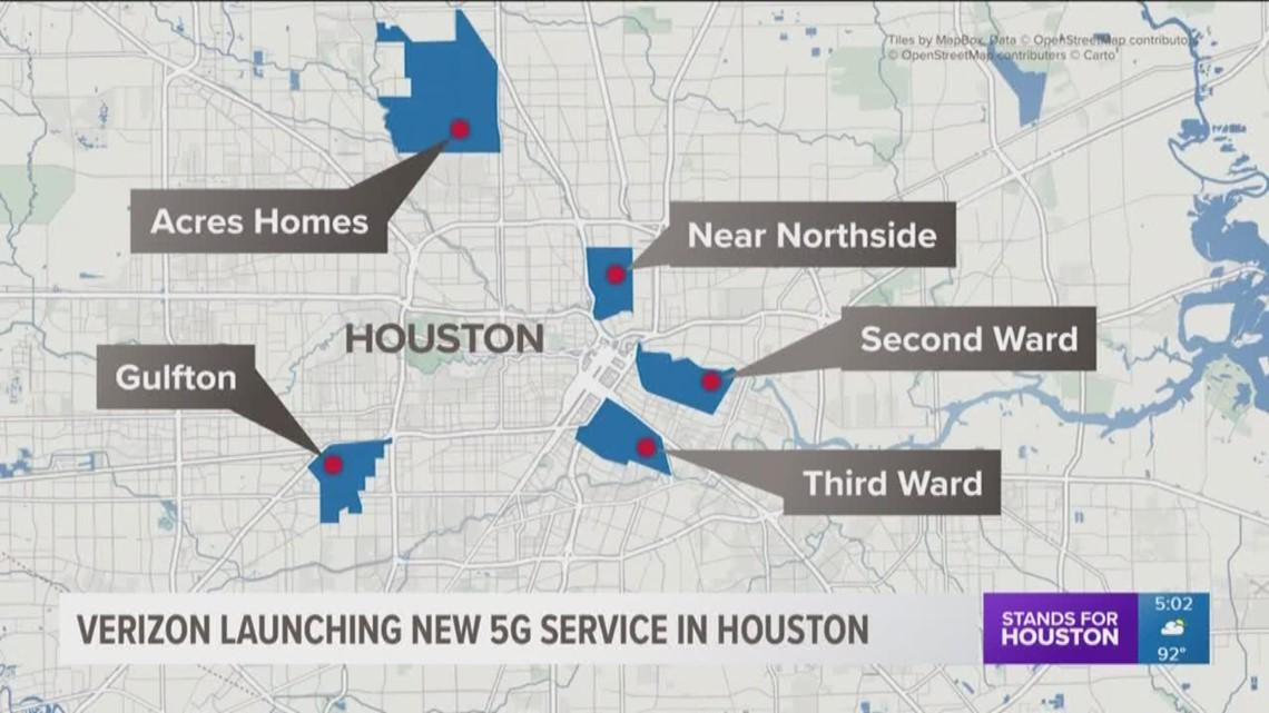 Verizon Launching New 5g Service In Houston Khou Com