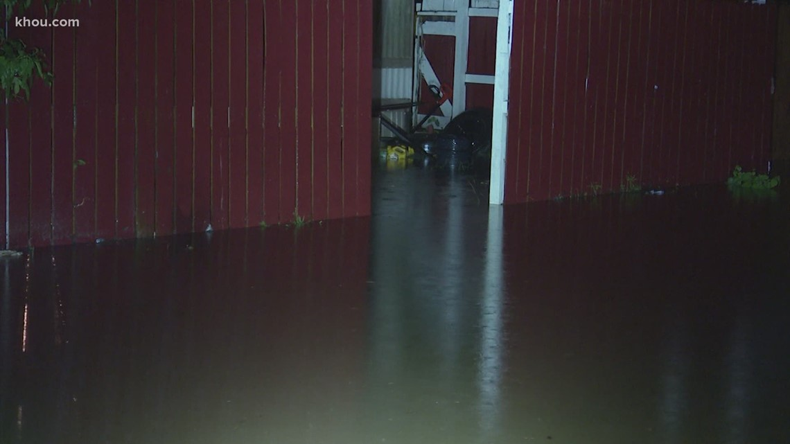 What should I do if my house floods?