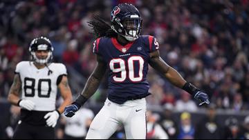 Texans place franchise tag on linebacker Jadeveon Clowney