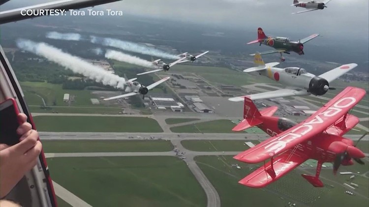 2021 Wings Over Houston Air Show taking flight this weekend!