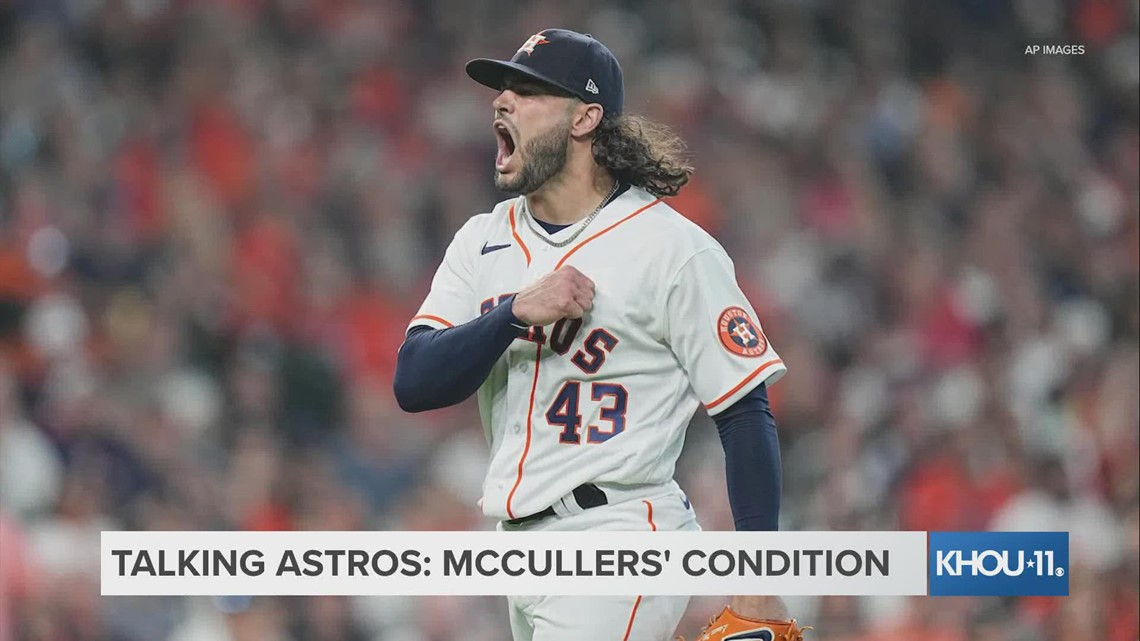 KHOU 11's Jason Bristol talks about the Lance McCullers arm, Carlos Correa's contract