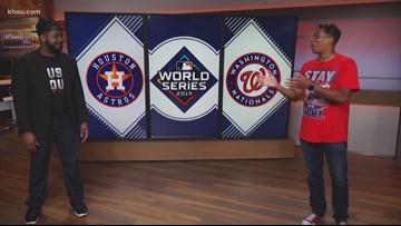 World Series smack talk: H-Town vs D.C.