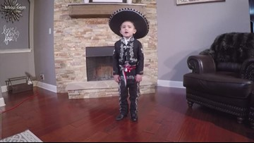 4-year-old boy hopes to become a professional Mariachi singer