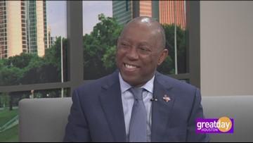 Mayor Sylvester Turner speaks on The City Of Houston Homeowner Assistance Program