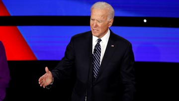 'Character is on the ballot this time'   Biden tells supporters together they can win back Texas