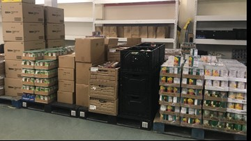 'We gave out a lot more food than we normally do' | Local relief agencies trying to rebound after Imelda