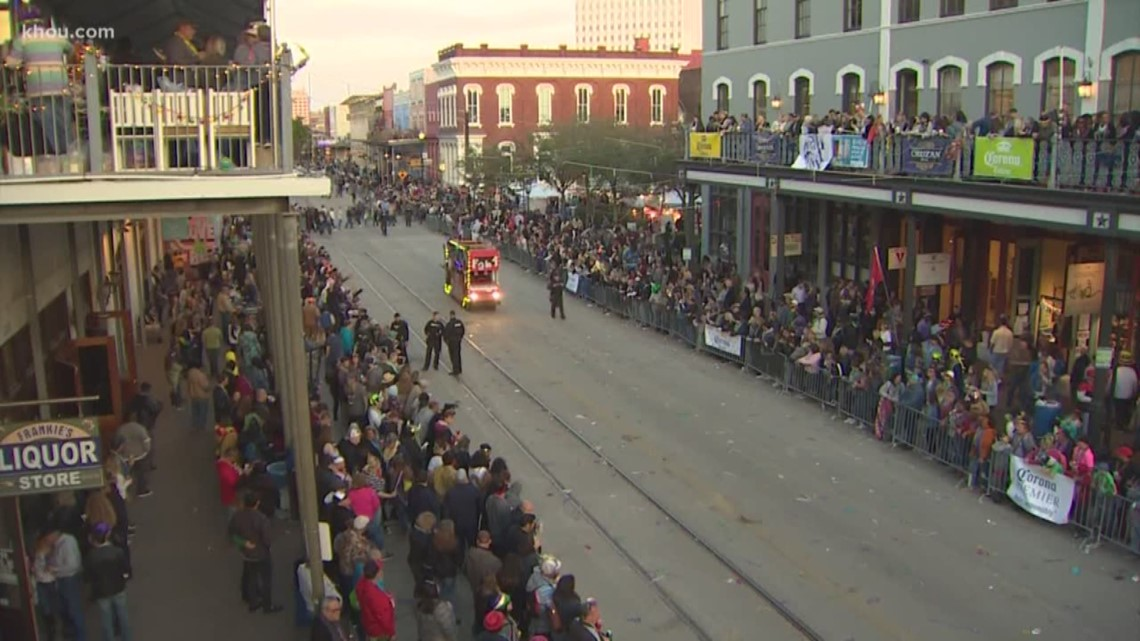 'It's huge' | Mardi Gras brings thousands of people to Galveston Island