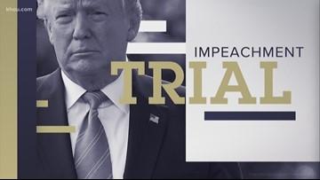 Recap: Day 2 of President Trump's impeachment trial