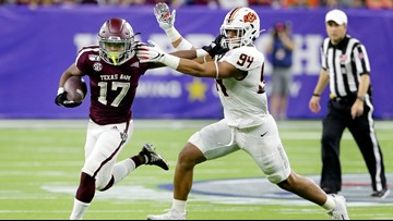 Mond leads A&M to 24-21 win over Oklahoma St. in Texas Bowl