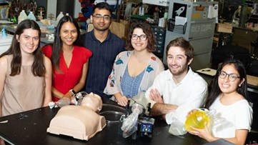 Rice University team develops desperately needed low-cost ventilator