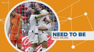 Connect the Dots: The debate about equal pay for the US women's soccer team
