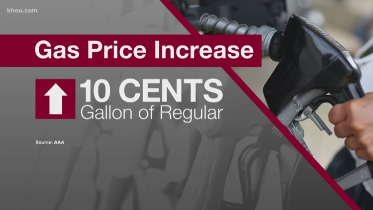 Texas gas prices jump 29 percent in March, expected to keep climbing