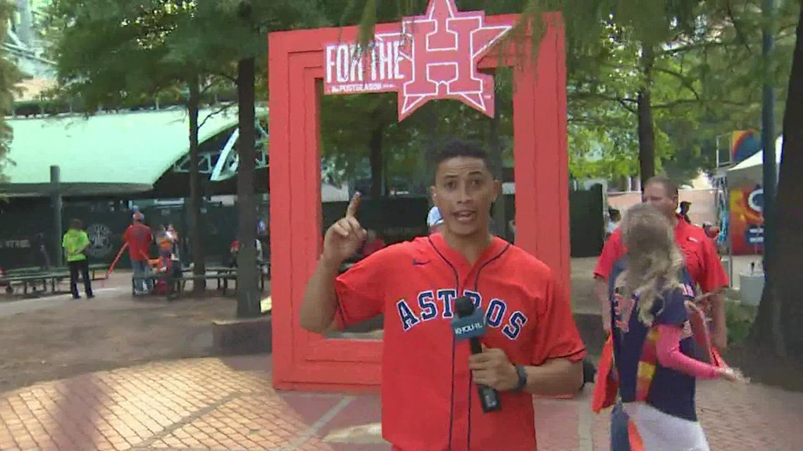 Hundreds of fans pack 'Street Fest' ahead of Game 6 of ALCS