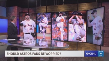 Should Astros fans be worried about 2019 rotation? Dierker answers