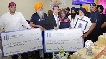 Deputy Dhaliwal's family receives $600K from United Sikhs fundraiser, 'HERO' fund launched