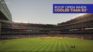 Why do Astros fans care if the roof is closed at Minute Maid?