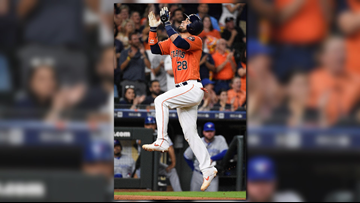 Chirinos hits slam, drives in 6 runs, Astros beat Blue Jays